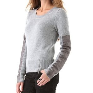AIKO Grey Garbo Crewneck Sweater L